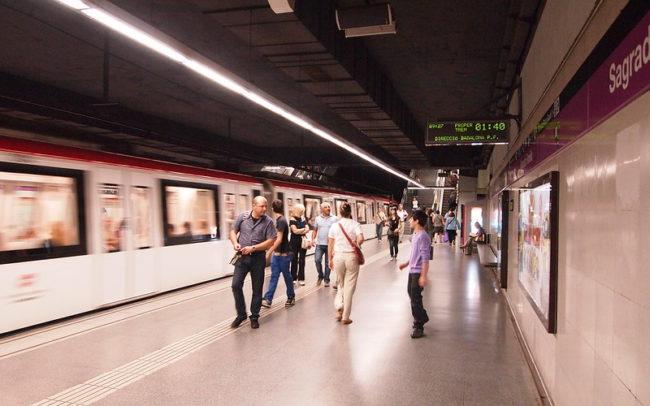 Barcelona metro, Sagrada Familia stop